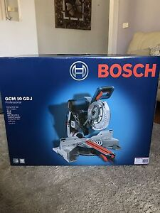 Bosch gliding miter saw Manifold Heights Geelong City Preview