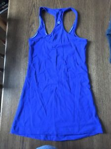 Lululemon purple/blue racerback tank
