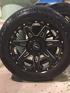 20 inch BMF BATL summer wheels Dodge Ram 1500