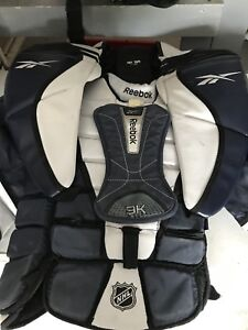 Goalie pants and chest/arms protector