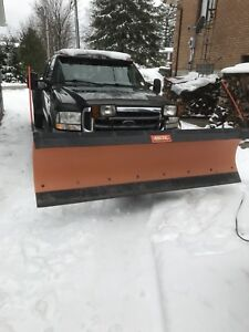 Plow and mounting hardware