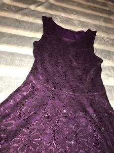 Eclipse Sequinned Dress Size XS