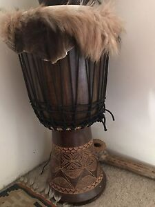 Hand Carved Djembe Drum Toowong Brisbane North West Preview