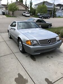 1994 Mercedes SL600 V12 Roadster - very rare, low kms!