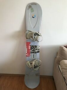"Snowboard and Boots sold together or separately 64"" board"
