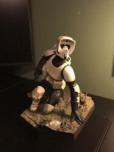 Star Wars Kotobukiya ArtFX Scout Trooper Statue