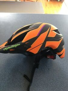 Troy Lee Designs mountain bike helmet