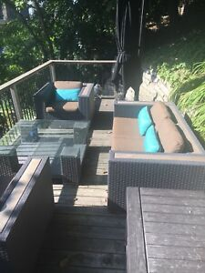 Andrew Richards Design conversational patio set