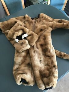 Sabre tooth tiger costume