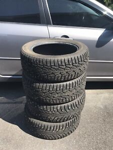 17inch nokian studded winter tires
