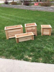 Cedar Planters