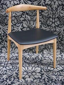 New Replica Hans Wegner CH20 Timber Elbow Scandi Dining Chairs Melbourne CBD Melbourne City Preview