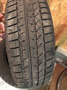 Almost new tires 205/55R16