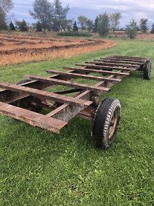 Pont acier pour vtt ou 4 roues