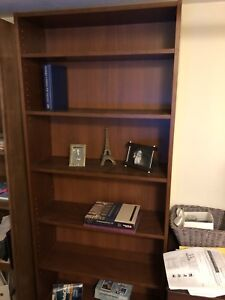 Billy bookcase and custom made bookcase