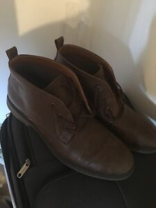 Men's boots brown - size 12