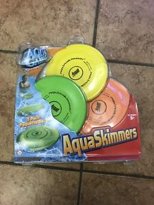 Set of 3 Aqua Skimmers - new in package