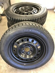 225/65R17 Tires a lot of tread left, slightly used