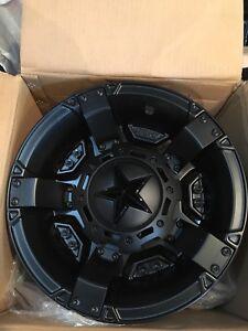 "Polaris 14"" rockstar wheels. New in boxes set of 4."