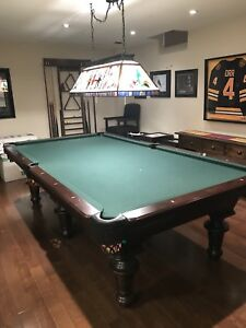 9' Olhausen Innsbruck Pool Table