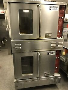 Southbend Marathoner Plus double stacked convection ovens