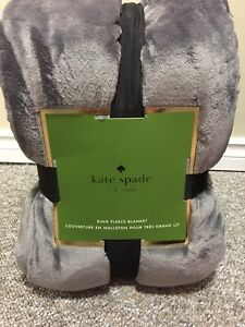 King and queen Kate spade blankets