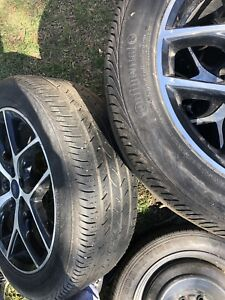 Ford Focus tires and rims