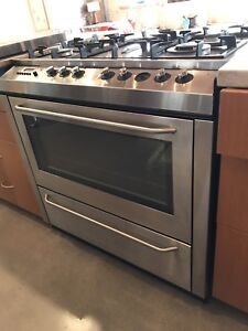 """36"""" AEG gas/electric stove/oven"""