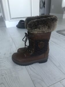 Ugg Fur Boots (Size 7)