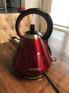 Black and decker kettle