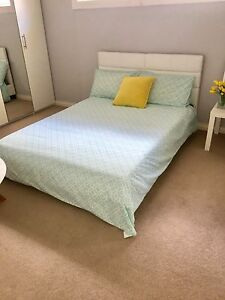 Modern White Double Bed - Never Used Lower Mitcham Mitcham Area Preview