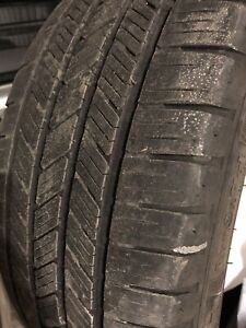 Goodyear eagle runflat tires - set of 4 245/45/R19
