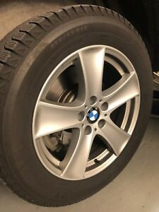 BMW OEM X5 Rims and Michelin Winter Tires