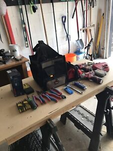 SELLING TOOL BAG + POWER TOOLS + HAND TOOLS!