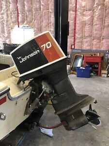 1976 Johnson Outboard 70HP