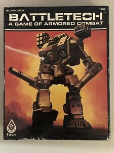 Battletech - A Game of Armored Combat (2nd Ed.) - Complete 1985