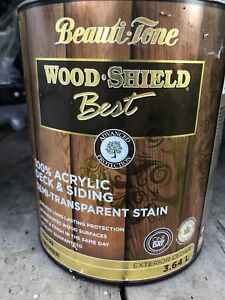 Deck and siding stain