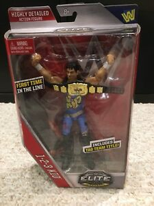 WWE WWF MATTEL ELITE 123 KID WRESTLING FIGURE