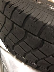 SUV winter tires + rims. 225/75 R16