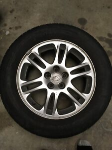 16 inch Subaru rims from 08 forester