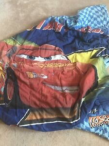 Lightning McQueen comforter & curtains
