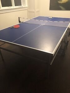 kettler folding ping pong table