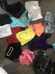 Variety bag of ladies clothing $25 call or text 403-359-4452