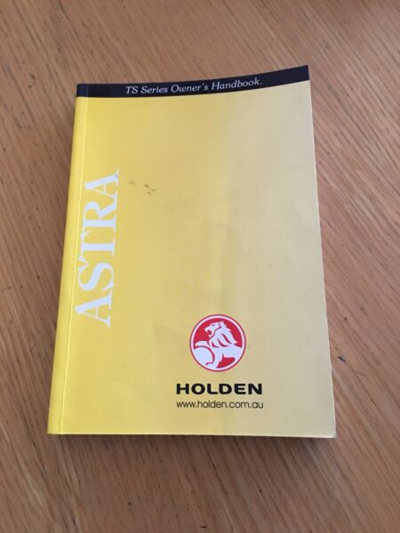 2001 holden ts astra owners manual other parts accessories rh gumtree com au free holden astra ts workshop manual holden astra ts workshop manual pdf