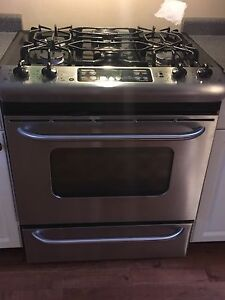 GE Profile gas stove
