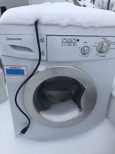 Frozen RV Washer - Dryer Combo - Hamdyman Special