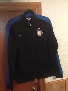 inter- milan FC zip up track /top jacket