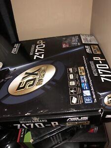 Asus z-170-p motherboard LGA1151 DDR4