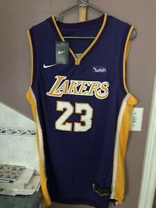 Lebron James jersey on Lakers