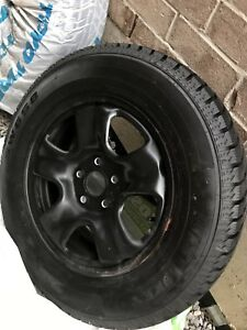 215 70r16 Westlake Winter tires with rims